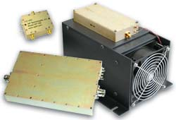 RF amplifier modules and sub-systems